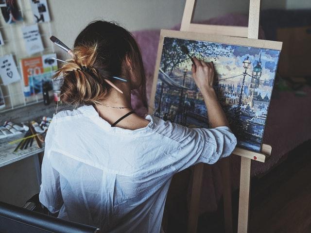 Characteristics of Oil Paint